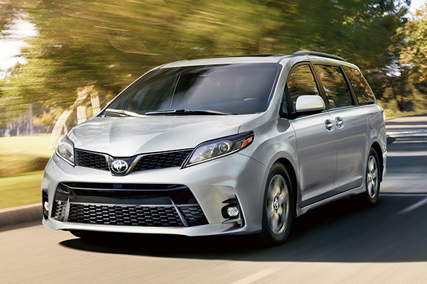 2020 Toyota Sienna Specs & Safety